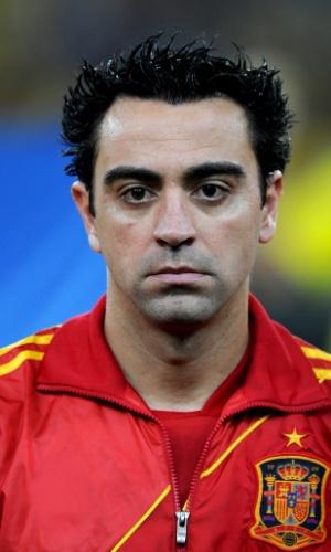 Xavi, volante da Espanha