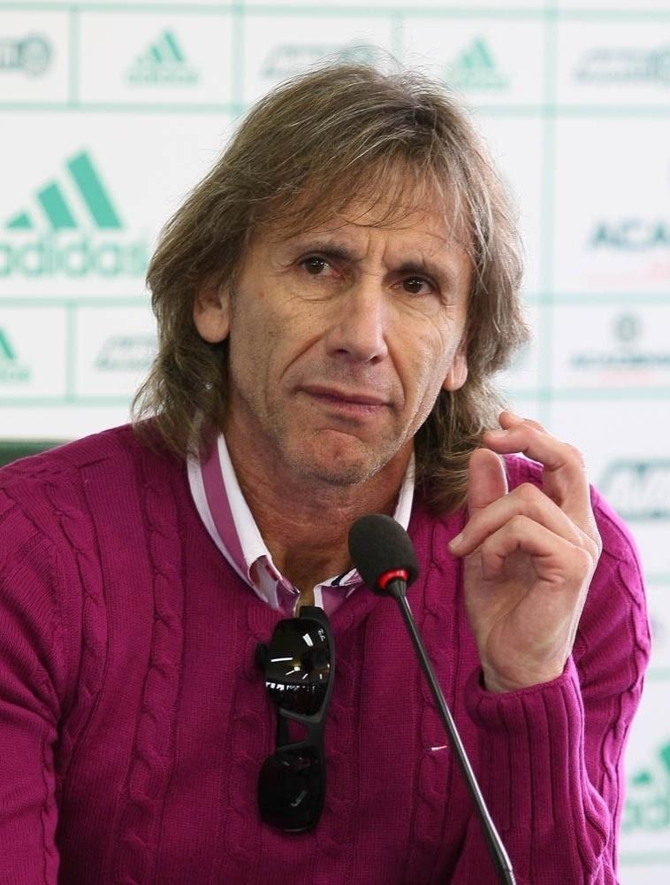 23-05-2014 - Ricardo Gareca é apresentado como treinador do Palmeiras