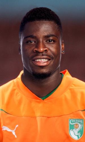 Aurier, jogador de Costa do Marfim