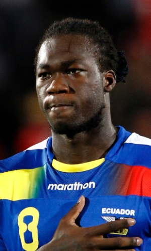 Caicedo, atacante do Equador
