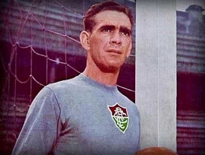 Castilho, ex-goleiro do Fluminense e bicampeão mundial com a seleção brasileira