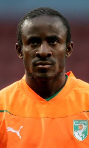 Doumbia, jogador de Costa do Marfim