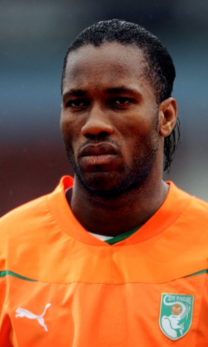Drogba, atacante de Costa do Marfim