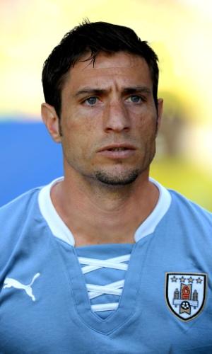 Eguren, jogador do Uruguai