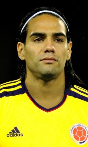 Falcao García, atacante da Colômbia