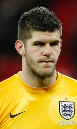 Fraser Forster, goleiro da Inglaterra