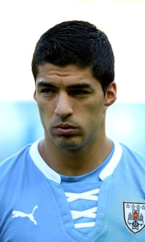 Luis Suarez, atacante do Uruguai