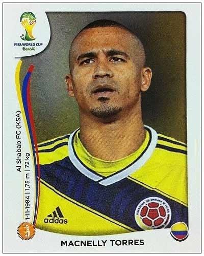 Macnelly Torres, meia colombiano, estava de férias quando foi convocado para a lista de 30; acabou cortado por afirmar que não estaria preparado