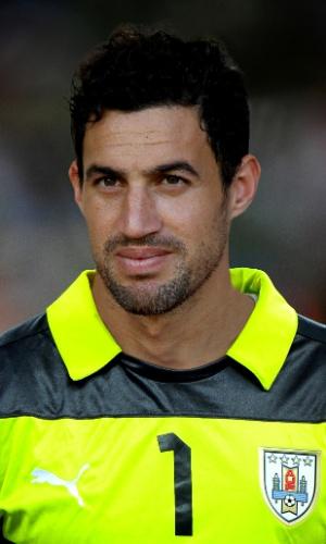 Martin Silva, goleiro do Uruguai