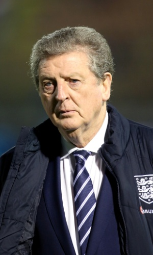 Roy Hodgson, técnico da Inglaterra