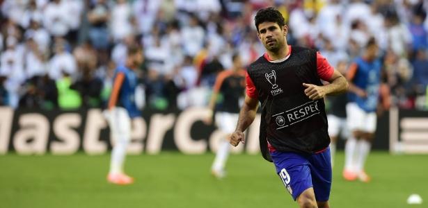 Diego Costa retornou ao Atlético, mas poderá estrear somente em janeiro