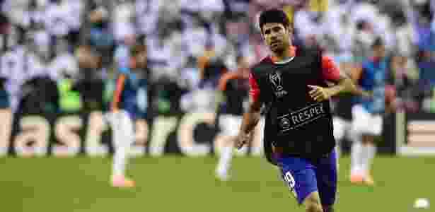 Diego Costa retornou ao Atlético, mas poderá estrear somente em janeiro - JAVIER SORIANO / AFP