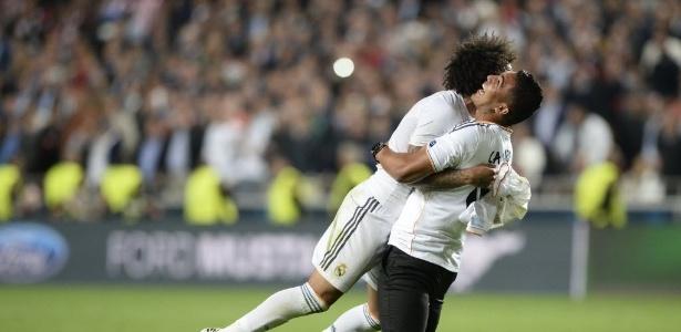 Casemiro e Marcelo terminaram a temporada como titulares insubstituíveis no Real
