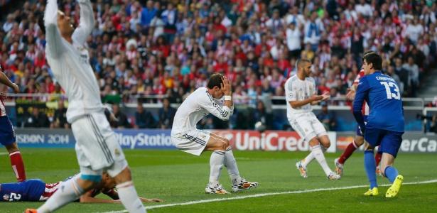 Atuando juntos, Cristiano Ronaldo, Bale (centro) e Benzema (dir) jamais derrotaram o Barça