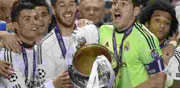 Real Madrid é o maior vencedor da Liga dos Campeões com 10 títulos - AFP PHOTO/ FRANCK FIFE - AFP PHOTO/ FRANCK FIFE