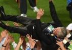 Recordista, Ancelotti diz que tinha prometido título ao presidente do Real - AFP PHOTO/ FRANCISCO LEONG