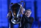 Festa do Real Madrid após vencer Liga dos Campeões - PEDRO ARMESTRE / AFP