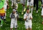 Artilheiro da Copa, James Rodríguez é apresentado como novo jogador do Real Madrid - Pierre-Philippe Marcou/AFP Photo
