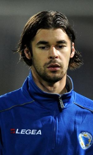 Adnan Zahirovic, jogador da Bósnia