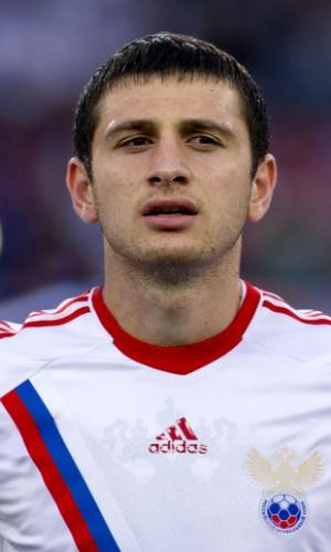Alan Dzagoev, jogador da Rússia