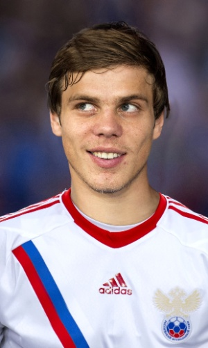 Aleksandr Kokorin, jogador da Rússia