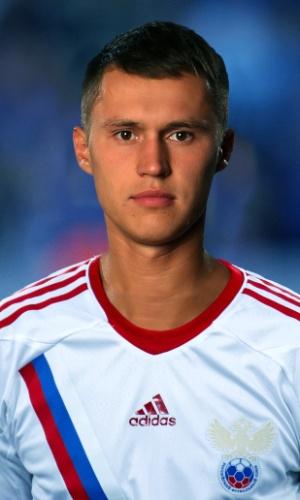 Aleksandr Ryazantsev, jogador da Rússia