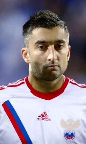 Aleksandr Samedov, jogador da Rússia