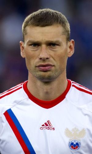Aleksei Berezutski, jogador da Rússia