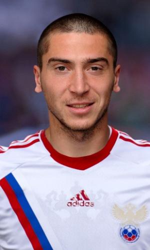 Aleksei Ionov, jogador da Rússia