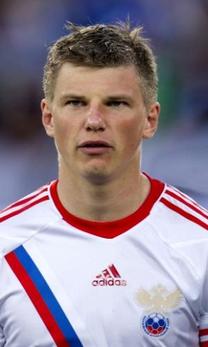 Andrey Arshavin, jogador da Rússia