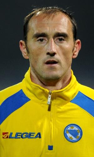 Asmir Avdukic, jogador da Bósnia