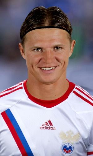 Dmitri Tarasov, jogador da Rússia