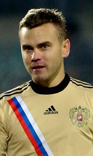 Igor Akinfeev, jogador da Rússia