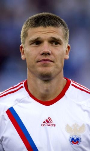 Igor Denisov, jogador da Rússia
