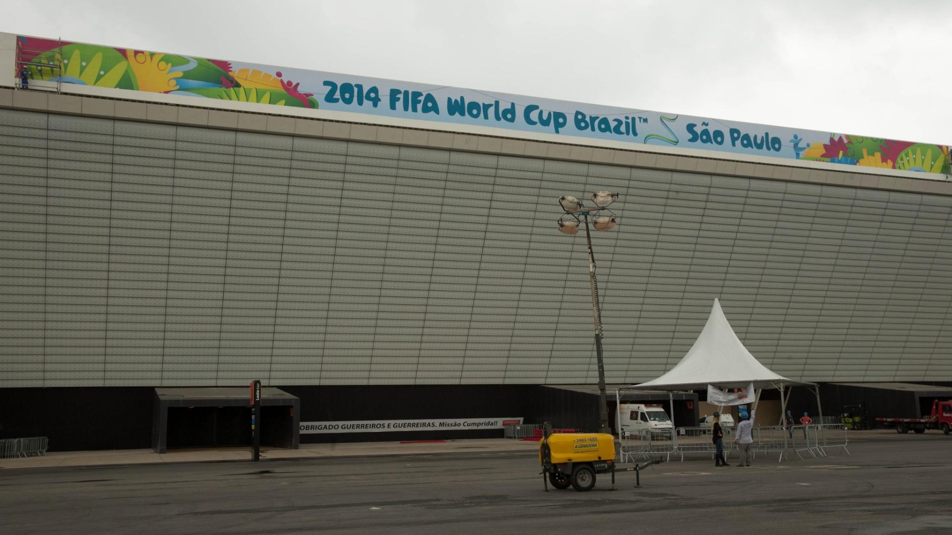 Itaquerão ganha sinalização da Fifa a poucos dias do início da Copa do Mundo no Brasil