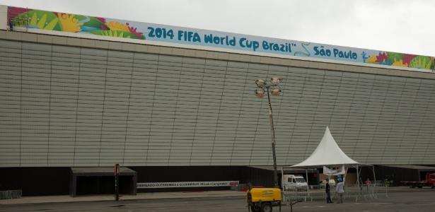 Itaquerão, em São Paulo: governo e empresas admitem que sinal de celular será ruim durante a Copa