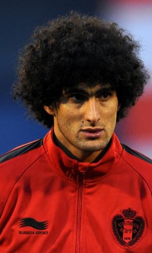 Marouane Fellaini, jogador da Bélgica