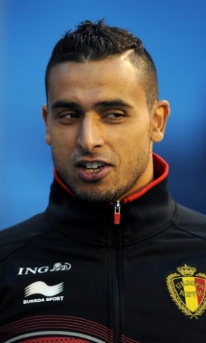 Nacer Chadli, jogador da Bélgica