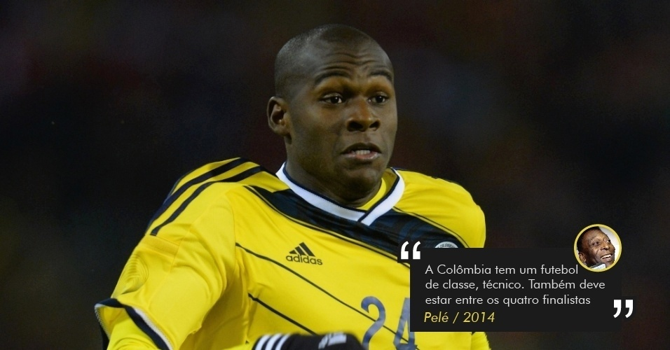 Pelé prevê Colômbia na semifinal da Copa de 2014