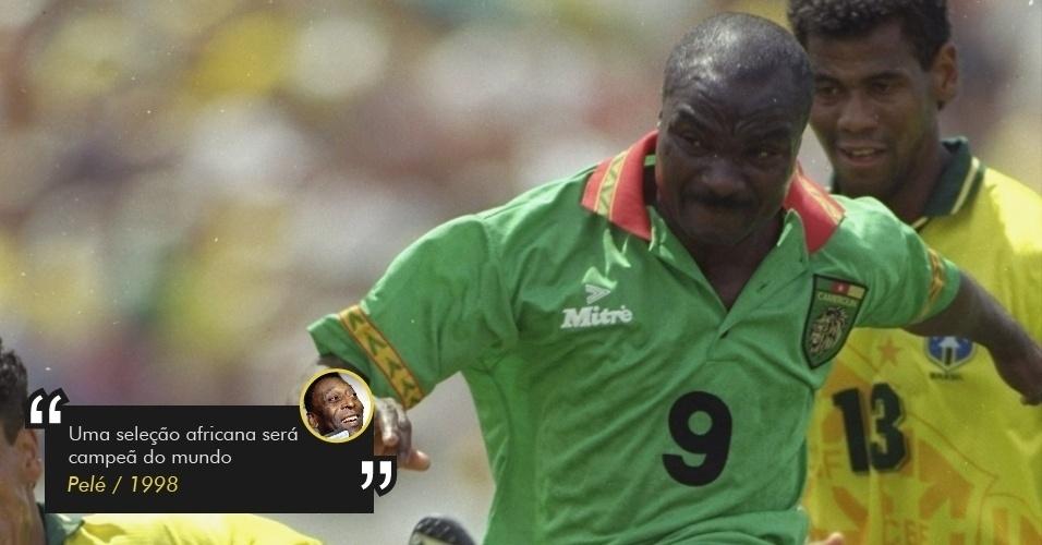 Pelé prevê que uma seleção africana venceria a Copa