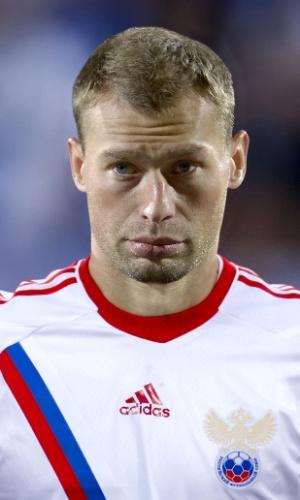 Vasili Berezutski, jogador da Rússia