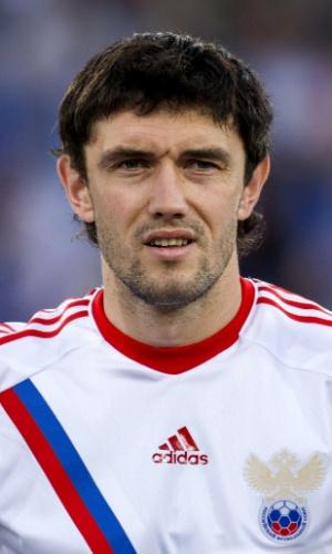 Yuri Zhirkov, jogador da Rússia