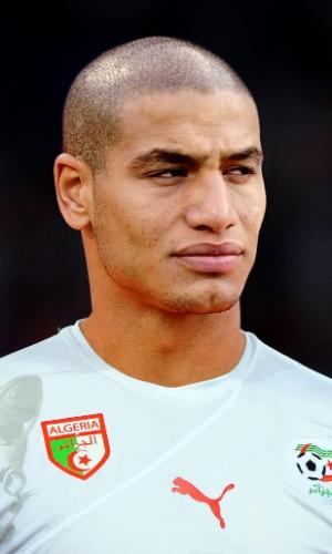 Adlene Guedioura, jogador da Argélia