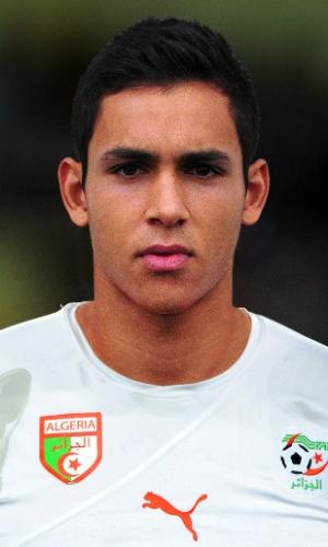 Aissa Mandi, jogador da Argélia