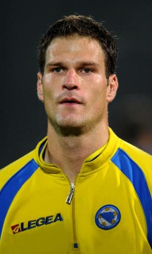Asmir Begovic, jogador da Bósnia
