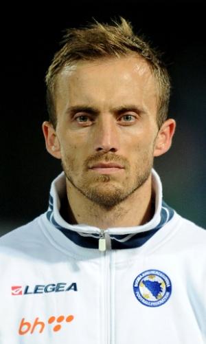 Avdija Vrsajevic, jogador da Bósnia