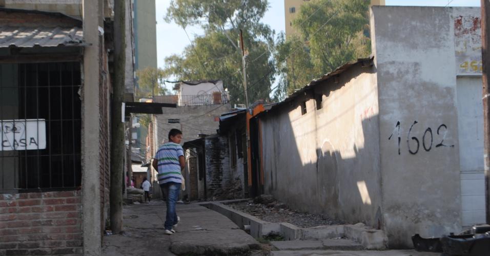 Bairro Forte Apache é um dos mais pobres e perigosos de Buenos Aries