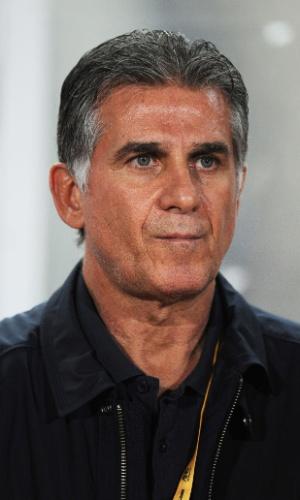 Carlos Queiroz, técnico do Irã