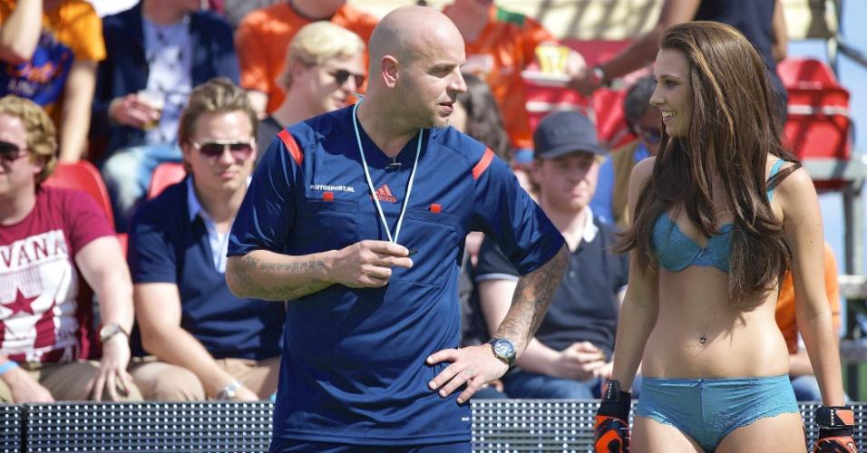 Copa do Mundo de Lingerie, na Holanda, em 2014