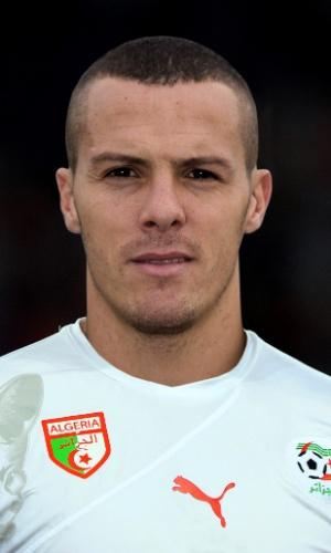 Djamel Mesbah, jogador da Argélia